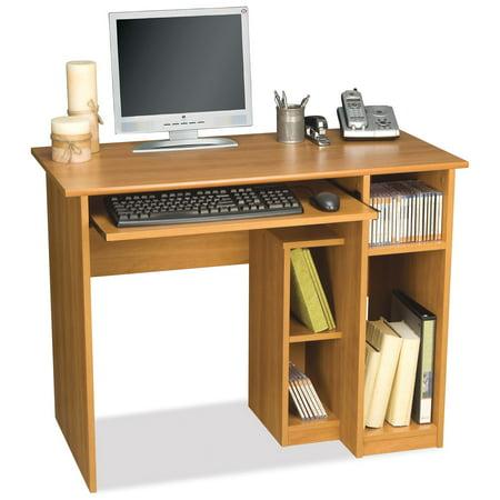 Bestar Basic Computer Desk Cappuccino Cherry
