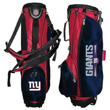 9b707fe9b Wilson Nfl Carry Golf Bag - New York Gia - Walmart.com