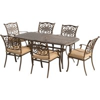 Hanover Outdoor Traditions 7-Piece Dining Set