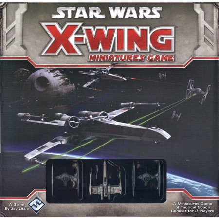 Fantasy Flight Games Star Wars X-Wing Miniatures Board Game: Core Set
