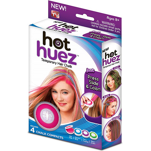 As Seen on TV Hot Huez Temporary Hair Chalk