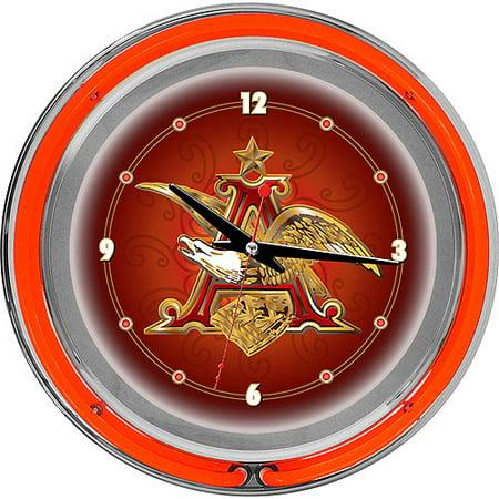 Budweiser A   Eagle 14  Neon Wall Clock