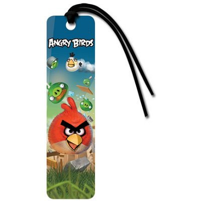 Angry Birds Red Video Game Bookmark - 2x6 (Play Game Angry Birds Halloween Hd)