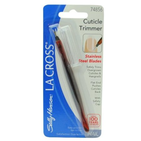 La Cross Cuticle Trimmer - La Cross Cuticle Trimmer #74856 with Stainless Steel Blades, one cuticle trimmer By Sally Hansen