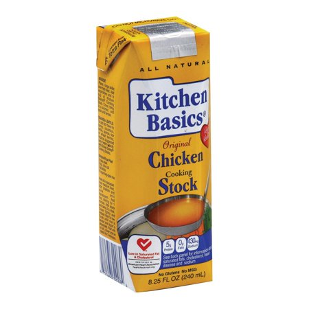 Kitchen Basics Chicken Stock Pack Of 12 8 25 Fl Oz Walmart Com