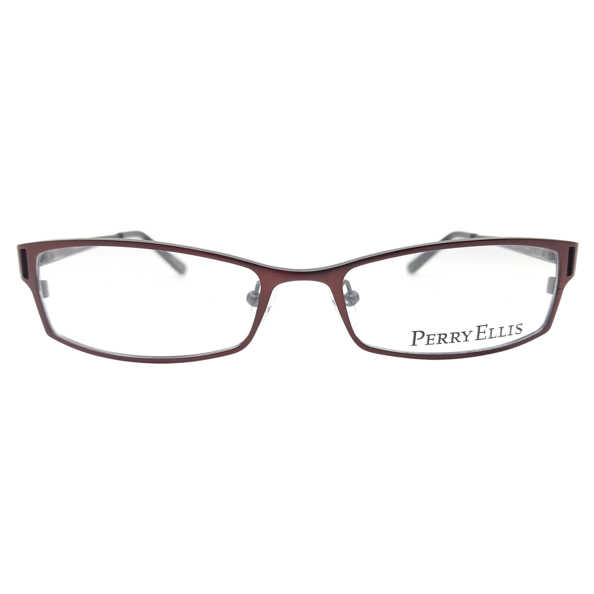 Perry Ellis Men's PE233 Eyeglasses Prescription Frames, (Brwn/Blk, 53-17-135) - Walmart.com | Tuggl