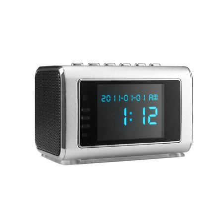 SpyTec Aetos 200 Video and Audio Recorder in Mini Clock Radio With 8Hrs