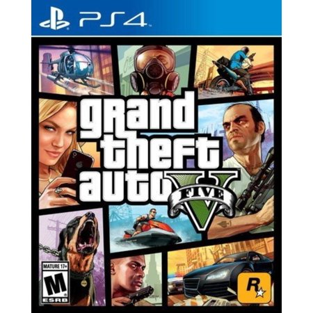 Grand Theft Auto V - PlayStation 4, The biggest, most dynamic and most diverse open world ever created and now packed with layers of new detail By by Rockstar (The Best Open World Games For Android)
