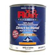 True Value Mfg Company WXO4-QT WXO Quart Yellow Waterborne Enamel