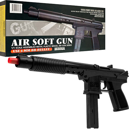 Whetstone M306A Pump Action Airsoft Gun, Black