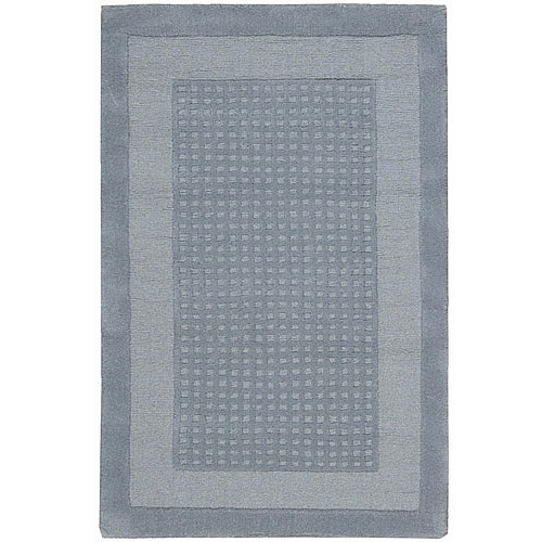 Nourison Westport Textured Grid Wool Decorative Rug