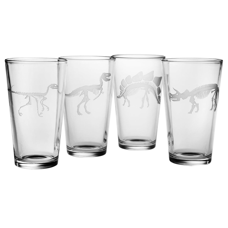 Susquehanna Glass Jurassic Pint Glass (Set of 4)
