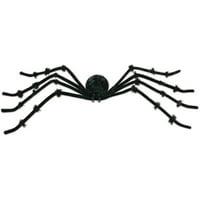 "Black 50"" Posable Spider"