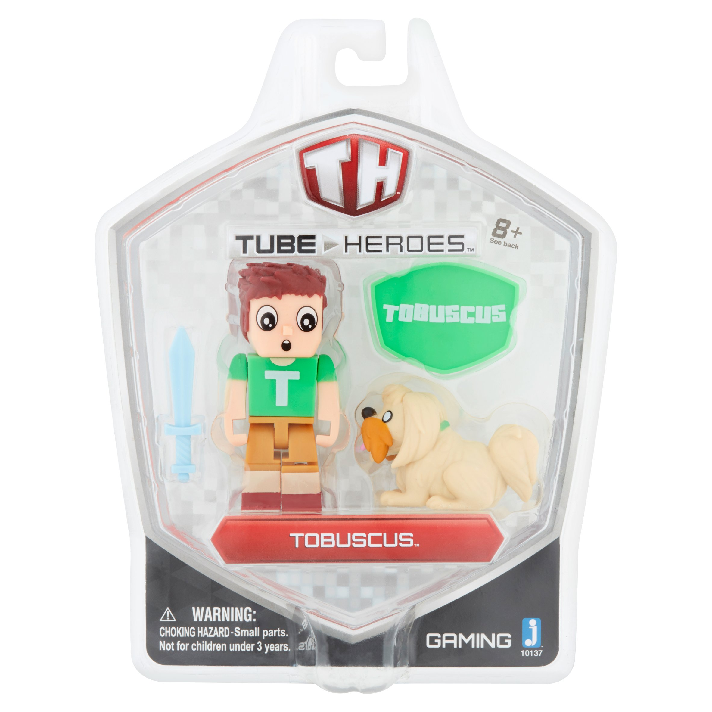 Tube Heroes Tobuscus Toy Figure 8+