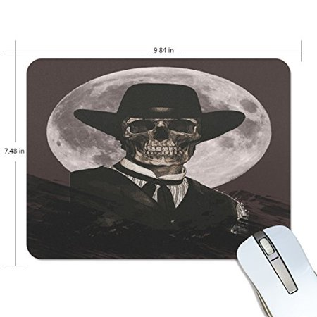 POPCreation Skeleton Man Mouse pads Gaming Mouse Pad 9.84x7.87 inches