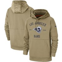 Los Angeles Rams Nike 2019 Salute to Service Sideline Therma Pullover Hoodie - Tan