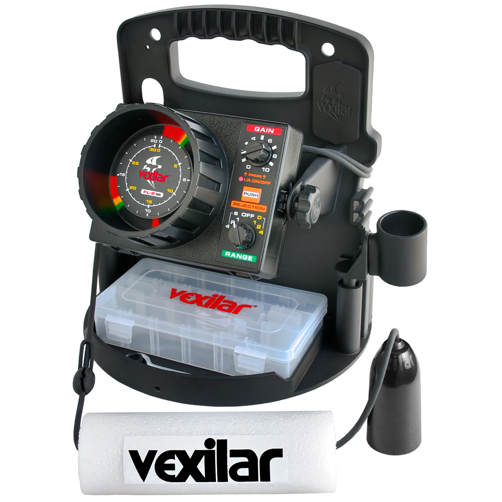 Vexilar FL-8SE Ice ProPack II Locator with 19 Degree Ice Ducer