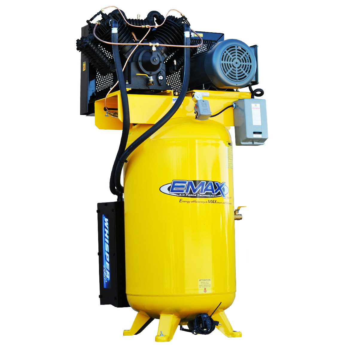 EMAX ESP10V080V1 10 HP 80 Gallon Industrial Plus Whisper Series Air Compressor by Overstock