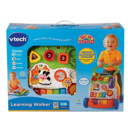 Vtech Sit To Stand Learning Walker Walmart
