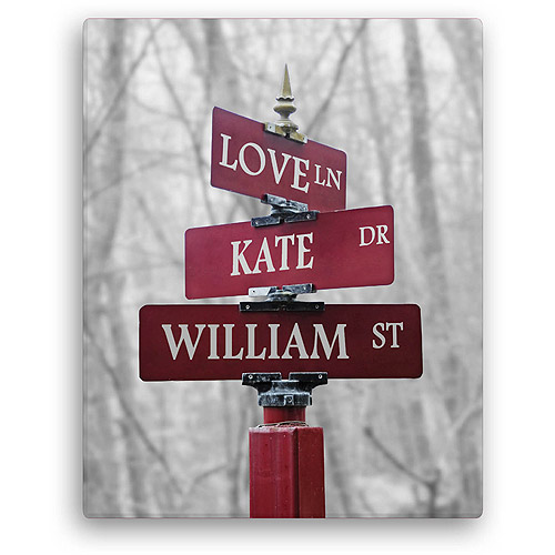 Personalized Canvas - Signs of Love
