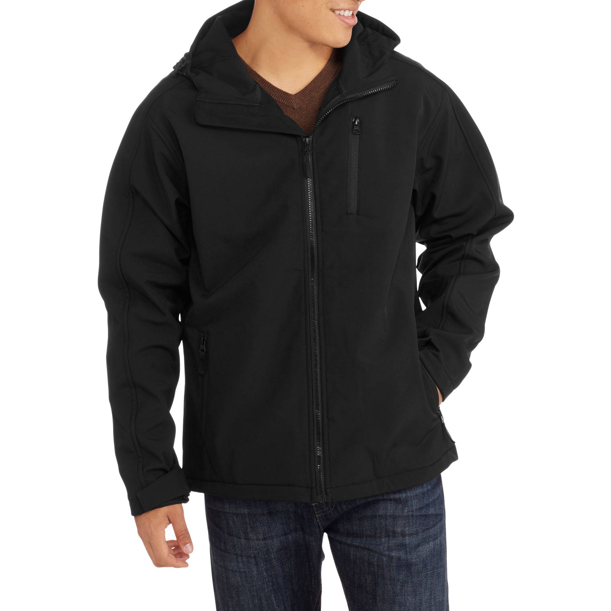 Men's Hooded Soft Shell Jacket by