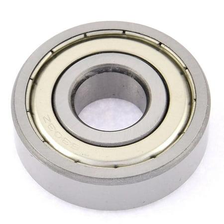 2pcs 6303Z 19x46x13.5mm scellé métal blindé double roulement bille gorge prof. - image 1 de 2
