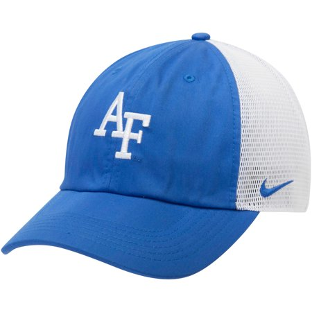Air Force Falcons Nike Trucker Adjustable Performance Hat - Royal/White -