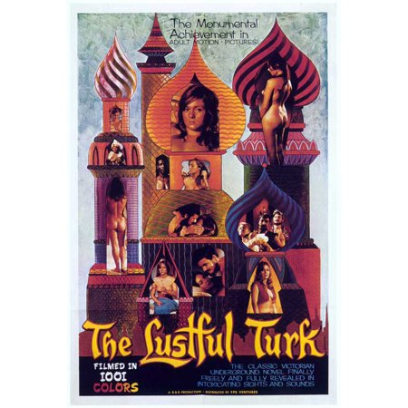 The Lustful Turk  1968  11X17 Movie Poster