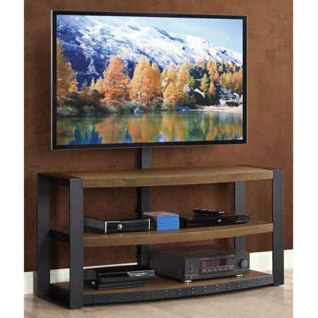 Santa Fe 3-in-1 Brown TV Stand for TVs up to 65″