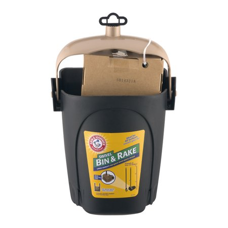 Arm & Hammer Swivel Bin & Rake Mulit-Waste Pickup, 1.0 CT