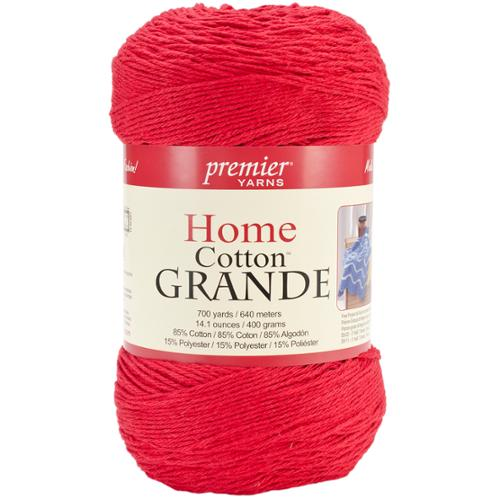 Home Cotton Grande Yarn-Solid-Cranberry