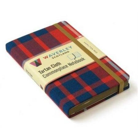 Hamilton Red : Waverley Genuine Scottish Tartan Notebook