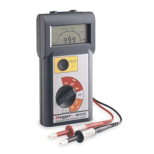 Battery Operated Megohmmeter, Megger, MIT230