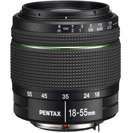 Pentax DA 18-55mm f/3.5-5.6 AL WR Zoom Lens (Open