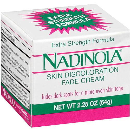 Nadinola Skin Discoloration Fade Cream, 2.25 oz