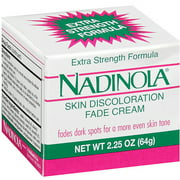 Nadinola Skin Discoloration Fade Cream, 2.25 oz