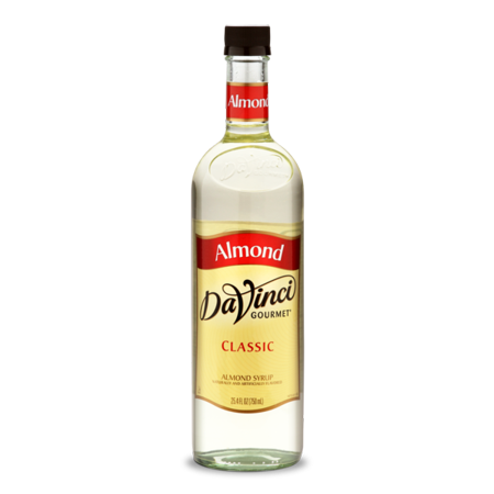 DaVinci Gourmet Classic Syrup, Almond, (Gourmet Flavored Syrup)