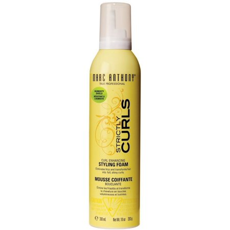 Marc Anthony Strictly Curls Curl Enhancing Styling Foam, 6 Fl. (Marc Anthony Strictly Curls Hair Products Reviews)