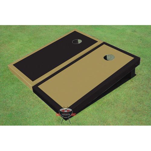 All American Tailgate Alternating Border Cornhole Board (Set of 2)