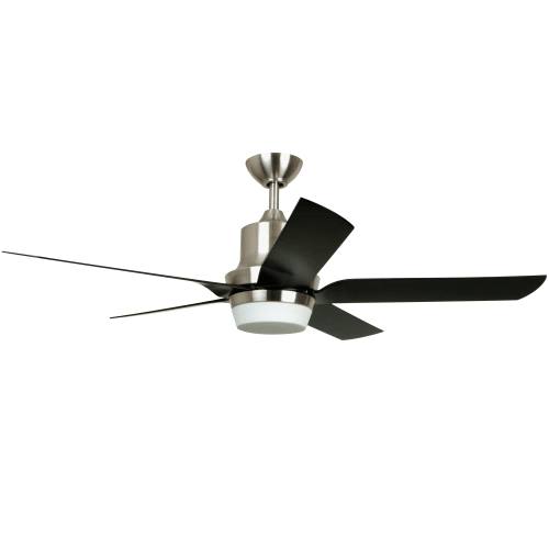 "Miseno MFAN-100 Modern 52"" Indoor Ceiling Fan with Integrated Light Kit - Includes Portable Remote Control, 5 Fan Blades and 6"" Downrod"