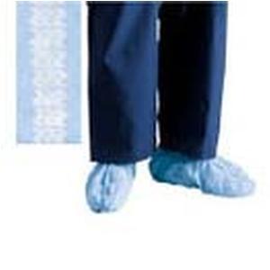 Cardinal Health Convertors Anti-Skid Shoe Cover, Blue, Spunbonded Polypropylene Universal Size, Box of 100