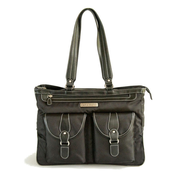 "Clark & Mayfield Marquam 18.4"" Metro Laptop Handbag"