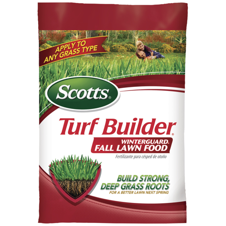 Image of Scotts Turf Builder Winterguard Fall Lawn Food, Covers up to 15,000 sq. ft.
