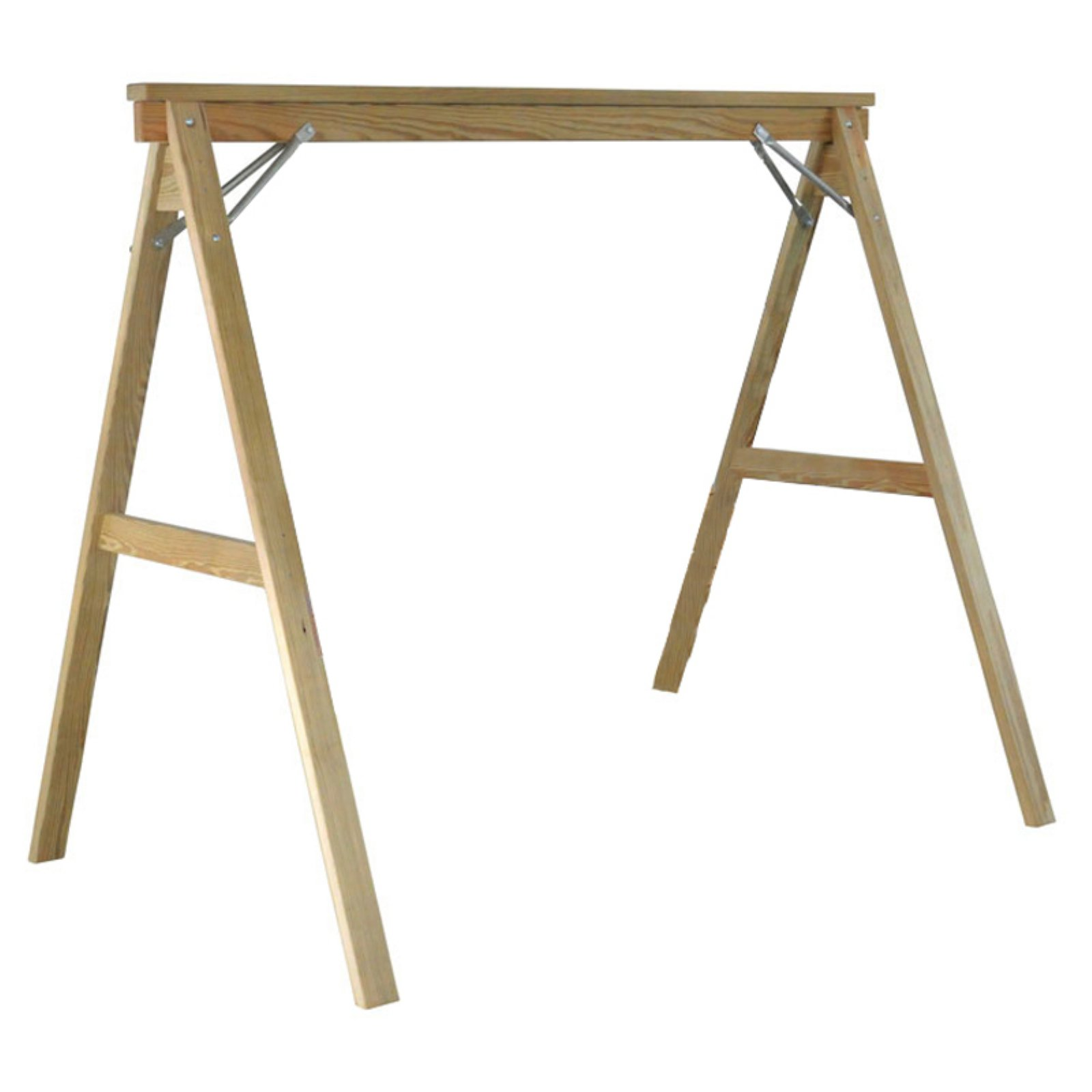 Hershy Way A-Frame Pine Wood Porch Swing Stand by Hershy Way