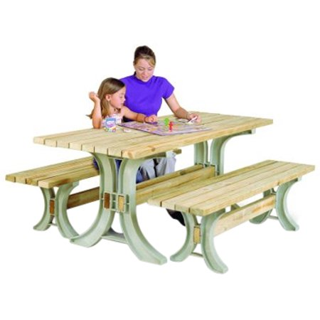 Super 2X4Basics 90182 Picnic Table Kit Sand Cjindustries Chair Design For Home Cjindustriesco
