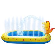 Gupgi Dinosaur Inflatable Pool Water Park PVC Portable Outdoor Toy