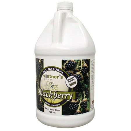 - Vintner's Best Blackberry Fruit Wine Base 128 oz.