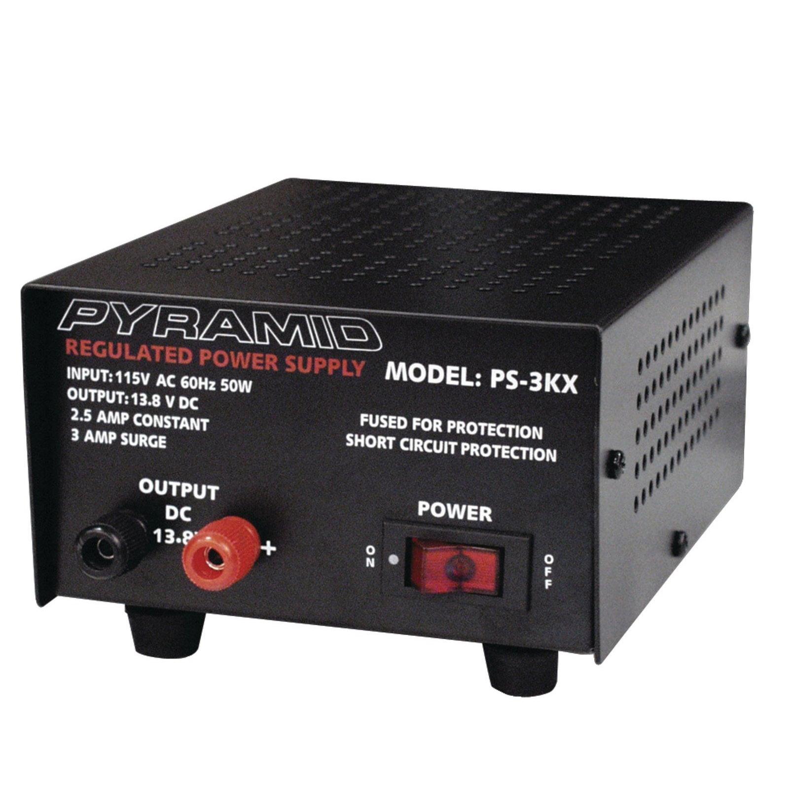 Pyramid 2.5 Amp Power Supply