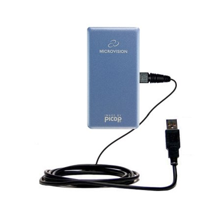 Classic Straight Usb Cable Suitable For The Microvision Showwx Laser Pico With Power Hot Sync And Charge Capabilities