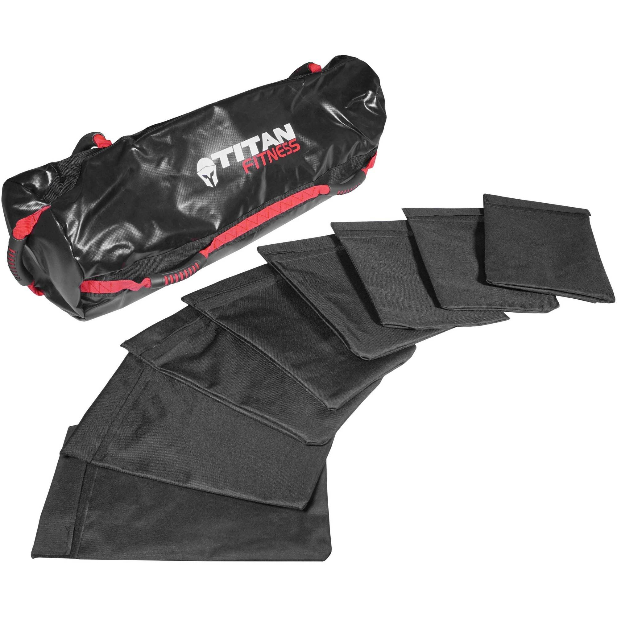Titan Fitness 100 lb Heavy Duty Workout Weight Sandbag Exercise Training Bag